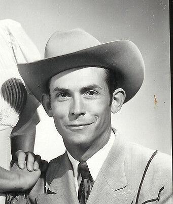 RARE! Vintage 1950's HANK WILLIAMS & DRIFTING COWBOYS Photo Set by WALDEN FABRY