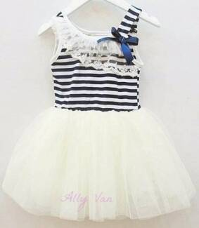 Girls Flower Cotton Tutu dress - multiple colours! Christmas Xmas Helensvale Gold Coast North Preview
