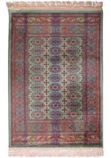New Persian Traditional Style Chiraz Art Silk Floor Rugs Fringe