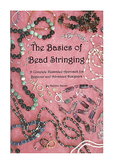 Beading Jewelry Making Craft Beadalon Book The Basics Of Bead Stringing BOOK3