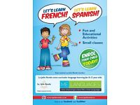 French & Spanish Classes for children using 'La Jolie Ronde' Methodology