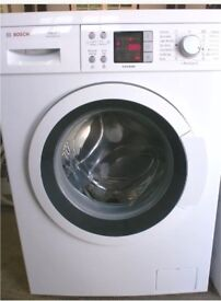 Bosch excel WAQ28461GB washing machine 8kg load A+++ energy rating 1400rpm spin white