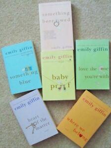 EMILY GIFFIN. Paperbacks