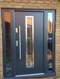 Aluminium Front Doors Made to Measure