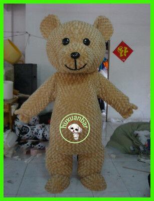 UK Teddy Bear Mascot Costume Adult Halloween Party Dress Cosplay Suit【Top Sale】 - Bear Halloween Costume Uk