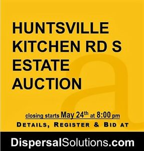 Huntsville Estate Auction | May 18-24