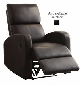Modern Brown Recliner Cambridge Kitchener Area image 3