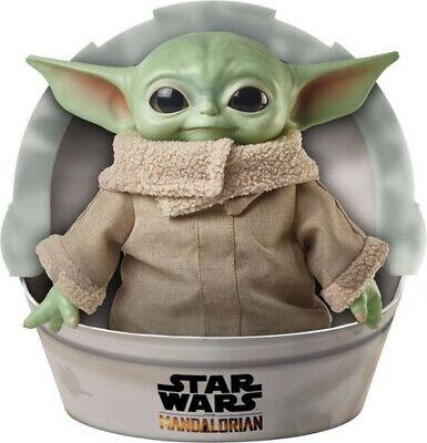 "Mattel Star Wars The Child Plush Toy 11"" Yoda Soft Figure Mandalorian - ON HAND"