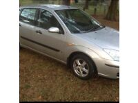 2004 FORD FOCUS 1.4 LOW INSURANCE GROUP MOTD TO AUGUST GREAT DRIVER PERFECT FIRST CAR