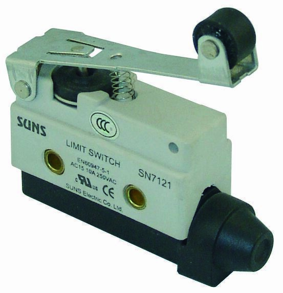 SUNS SN7121 Extended Roller Lever Mini Enclosed Limit Switch