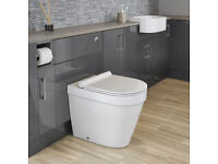 Back to Wall Toilet and Soft Close Seat (NEW)