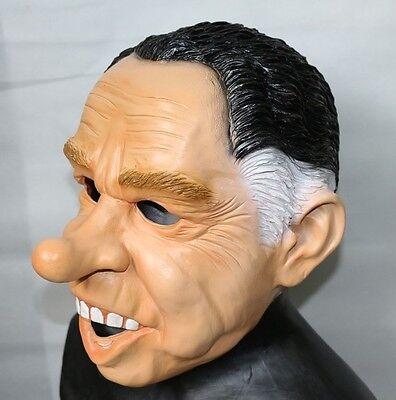 Point Break Masks Halloween (Richard Nixon Mask Dead Ex Presidents Latex Halloween Fancy Dress Point Break)