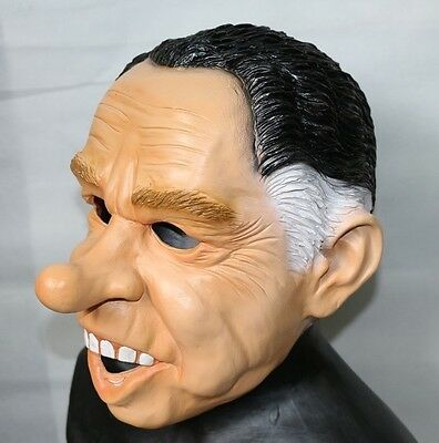 Point Break Masks Halloween (Richard Nixon Mask Dead Ex Presidents Latex Halloween Fancy Dress Point)