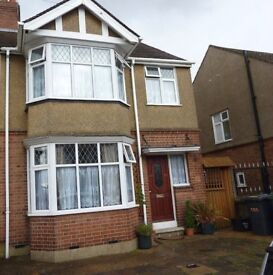 LARGE FOUR BEDROOM WITH DRIVEWAY AND GARDEN