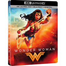 Wonder Woman 2017 Limited Edition SteelBook [4K Ultra HD + Blu-ray + Digital]