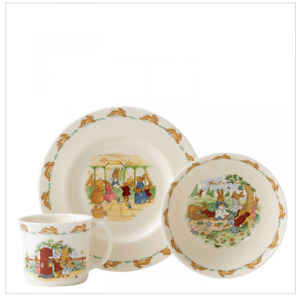 Bunnykins by Royal Doulton 3 piece Melamine Set