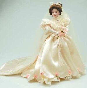 Ashton Drake procelain bride doll