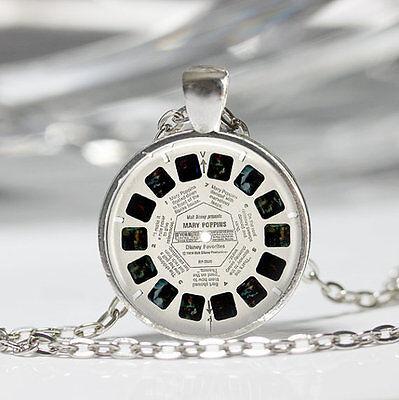 View Master Necklace Vintage Viewmaster Reel Viewfinder Eighties Fads Pendant  - Eighties Glasses