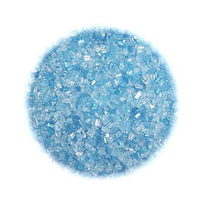 Soft Blue Sugar Crystals - 16 oz  - CK Products Blue Sugar Crystals