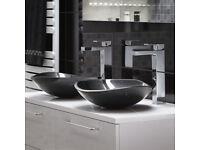 Kuro black Marble wash bowl sink **BRAND NEW BOXED** RRP £259 !!