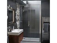 Free!! 1200mm Wide Bathstore Sliding Shower Door