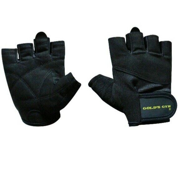 Golds Gym Classic Weight Lifting Gloves Size L/XL Washable *BRAND NEW Free Ship*