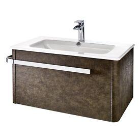 Bathroom Sinks Gumtree bathstore 600mm vanity unit with cisco basin | in stockport
