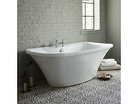 Bathstore London style Freestanding Bath. Unused!