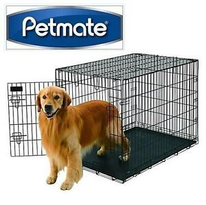 NEW PETMATE WIRE KENNEL CRATE DOG - PET CRATE - 42'' x 28'' x 31'' 104826974