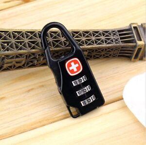 """Mini Cadenas à Combinaison style """"Suisse"""" Alliage fort VVV"""