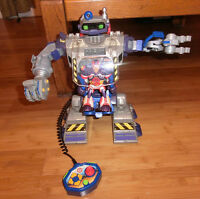 Robot, a large variety of small toys and 2 games