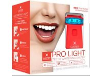 Brand new Luster Pro Light Teeth Whitening System with Light Dual