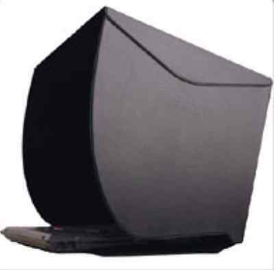 "PCHood NB-17 Laptop Monitor Hood Sun Shade for 17"" Laptop LCD Screens"