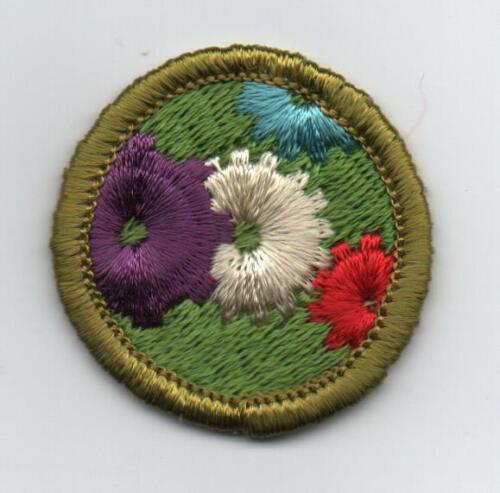 Machinery Merit Badge, Type G, Cloth Back  (1969-71), Lt-Use