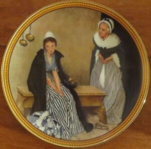 Norman Rockwell Plate: Words of Comfort