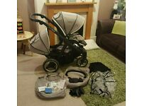 Oyster Max2 Tandem pushchair with extras