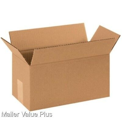 25 - 10 x 5 x 5 Corrugated Shipping Boxes Packing Storage Cartons Cardboard Box