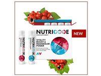NUTRICODE VITALITY BOOST & MAGNESIUM POWER