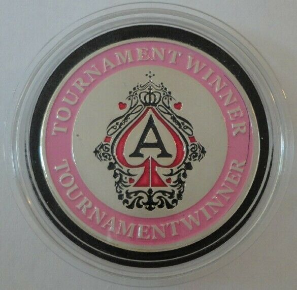 TOURNAMENT WINNER Card Guard Protector Cover - Pink