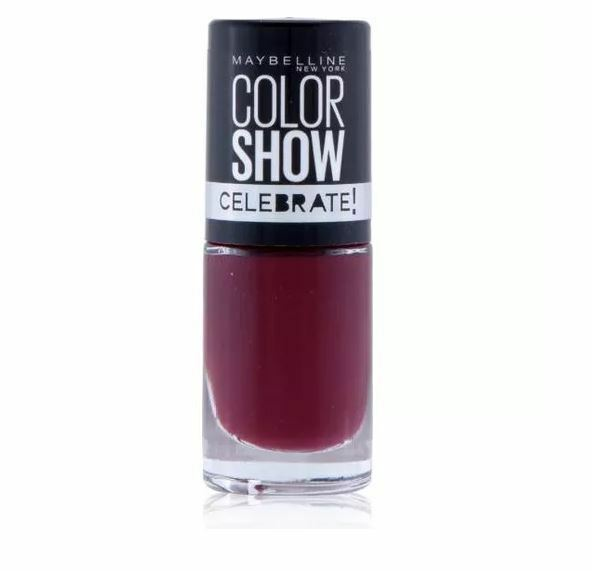 Details about MAYBELLINE COLOR COLOUR SHOW NAIL POLISH LACQUER VARNISH  VELVET ROPE MANI 7ml