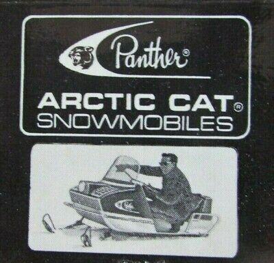 ROME, NEW YORK: ARCTIC CAT SNOWMOBILE DEALER MATCHBOOK MATCHCOVER -F21