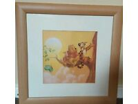 Set of 4 Framed Winnie the Pooh pictures