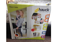 Brand new in box child's safety gate