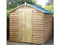 New 8x6 shed