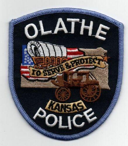 KANSAS KS OLATHE POLICE NICE PATCH SHERIFF