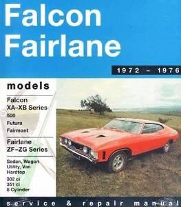 Ford Falcon / Fairlane XA / XB (8 cyl) 1972 - 1976 Manual Blacktown Blacktown Area Preview