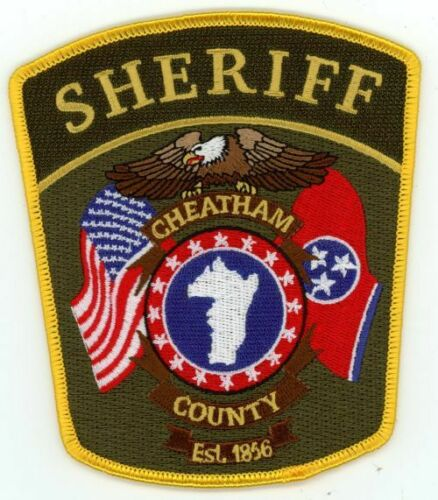 CHEATHAM COUNTY SHERIFF TENNESSEE TN NICE COLORFUL PATCH POLICE