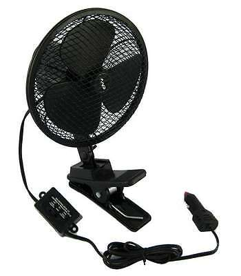 X-Way 12 Volt DC 2 Speed Ventilation Fan with Clip-On Install, High-Low Speed a