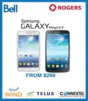 Samsung Mega from $275 UNLOCKED AVAILABLE STORE WARRANTY 60DAYS