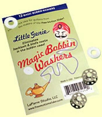 Teflon Bobbin Washers For Sewing Machines By Little  Genie